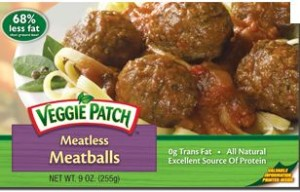 Review and recipes: Veggie Patch Meatless Meatballs