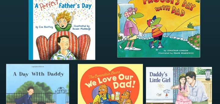 Eight Great Children's Books for Father's Day