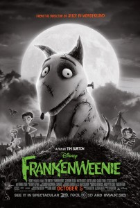 Have you seen the latest 'Frankenweenie' poster?
