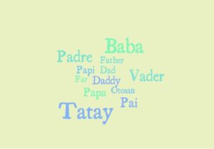 Father's Day:  How to say Father in different languages