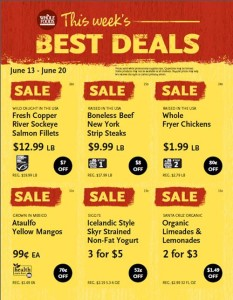 Houston area Whole Foods Best Deals June 13-20