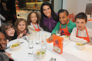 Let's Get Kids Cooking:  My interview with 'Rizzoli and Isles' Angie Harmon