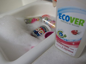 Eco-friendly and cleans my dishes too review: ECOVER Dishwashing Liquid