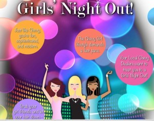 Gotta Love Chevy Houston weekly giveaways for girls' night out getaways