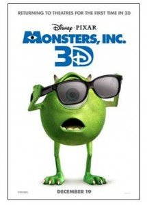 Monsters Inc 3D official trailer