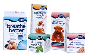 Review and giveaway:  All natural cold and flu medicine with Maty's Healthy Products