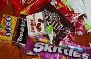 Healthy Halloween snack alternatives and gluten free candy