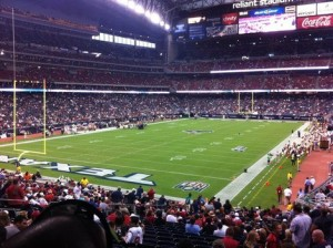 Are you ready for some football! Reliant Stadium Guide