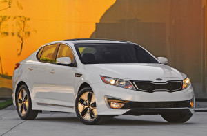 He said, she said car review:  Kia Optima Hybrid Premium 2012