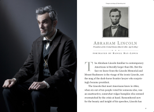 LINCOLN – New Interactive FREE iPad Book! (limited time offer)