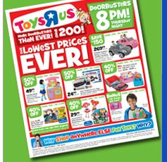 Toys 'R' Us Black Friday: Store hours, doorbusters, deals and ad