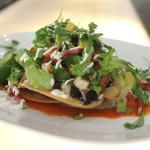 Hotel Icon- Beer-braised pork tostadas