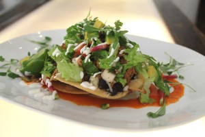 "A ""super"" good football food recipe: Beer-Braised Pork Tostadas"