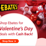 ebates valentines double cash back