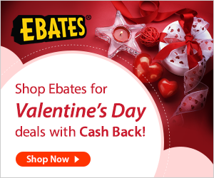 Find out how to earn cash AND save money on your Valentine's Day gifts