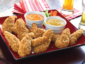 Game Day Finger Food Recipes:  Crunchy Onion Chicken Tenders