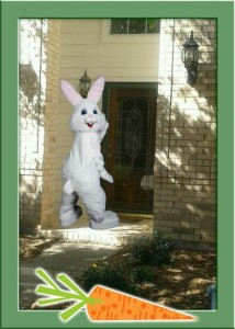 I caught the Easter Bunny at my house – you can too! Easter Bunny Giveaway