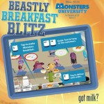 monster u breakfast blitz game
