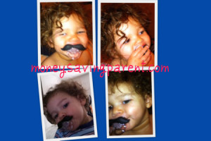 Mustachifier: The mustache pacifier for your baby or toddler