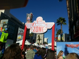 The Landing Zone Disney Planes Premiere