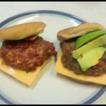 Cowboy Burgers Red Gold Tomatoes and Green Chilies recipe