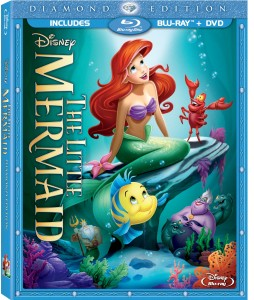 Little Mermaid Combo Pack Box Art