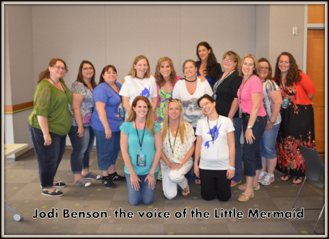 Interview with Jodi Benson of the Little Mermaid