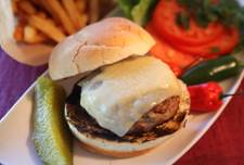 Jumpin' Turkey Swiss Burgers Recipe