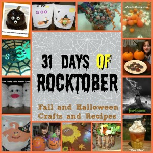 Rocktober: 31 Days of Fall, Harvest and Halloween crafts and recipes