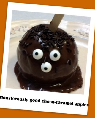Halloween recipe: Monsterously good Chocolate Caramel Apples