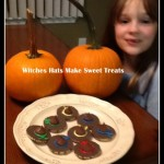 witches hat cookies #hersheyhalloween