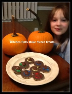 Halloween sweet treats: Witches Hat Cookies