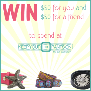 Keep Your Pants On giveaway