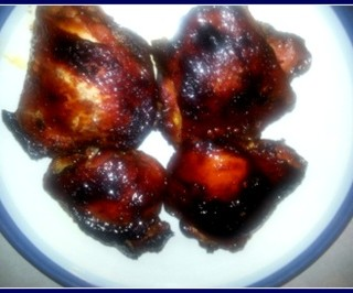 Pomegranate Honey Glazed Chicken recipe
