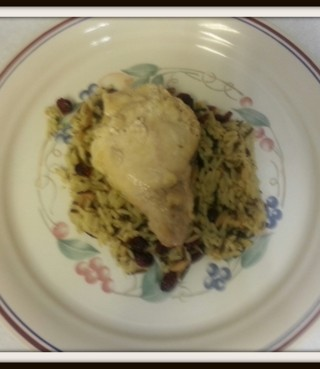 Recipes: Slow Cooker Lemon Garlic Chicken and Cranberry Rice Pilaf