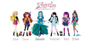 Great green gift idea for girls: Zeenie Dollz