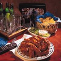 Cajun Buffalo Wings recipe