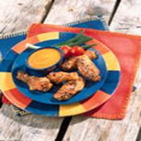 Honey Barbecue Sesame Wings recipe
