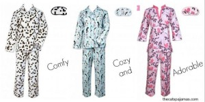 Giveaway: The Cat's Pajamas are the cat's meow! (3 winners, value $88 ends 1/10)