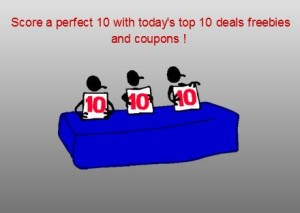 Today's top 10 deals and freebies