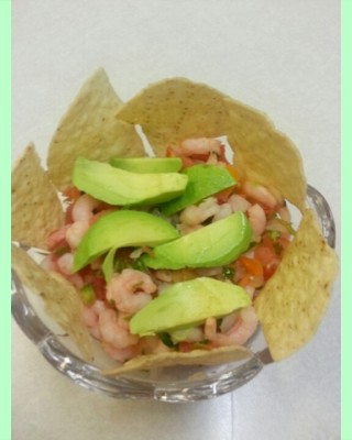 Margarita Shrimp Salad recipe