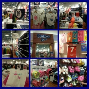 Oh my gosh! Spring shopping at OshKosh B'gosh and 20% off