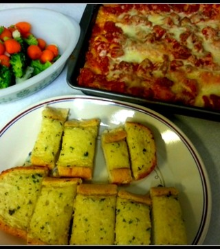 The whole family was loving this lasagna recipe and dinner using Red Gold