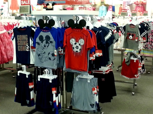 boys Disney clothing at Kohl's