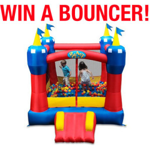 Have a BLAST this Summer! Blast Zone Magic Castle Bouncer Giveaway