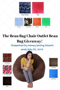 The Bean Bag Chair Outlet Faux Fur Bean Bag review and giveaway (ends July 29, 2014)