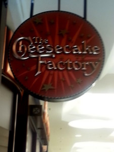 Delicious dining and fabulous fun at the Cheesecake Factory