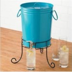 brylane homes drink dispenser on stand