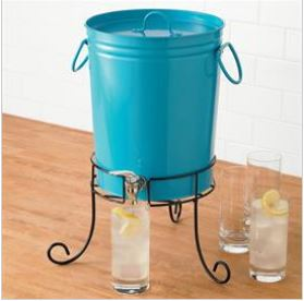 This drink dispenser got me galvanized to throw a party – or two!