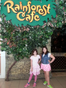 Our family is wild about Rainforest Cafe!